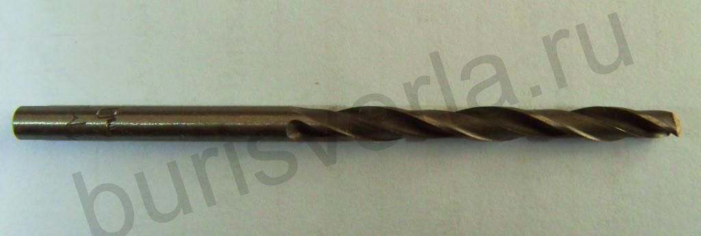 Сверло по металлу 4 мм, Р6М5